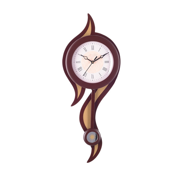 wwckq6161_br-ecraftindia-decorative-analog-brown-round-pendulum-wall-clock_1