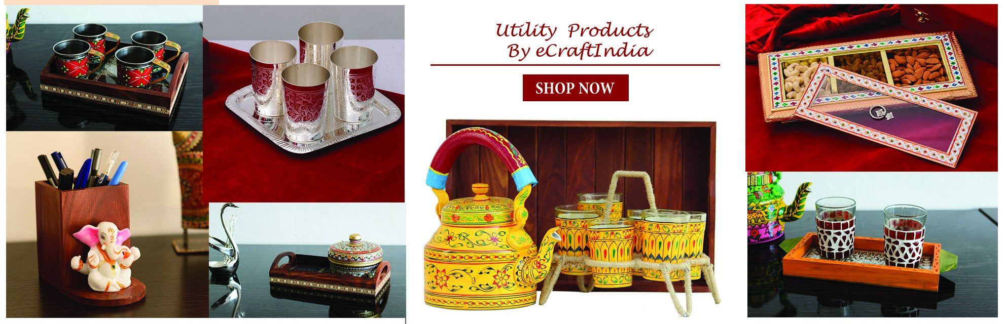 Handcrafted Utility Products by eCraftIndia