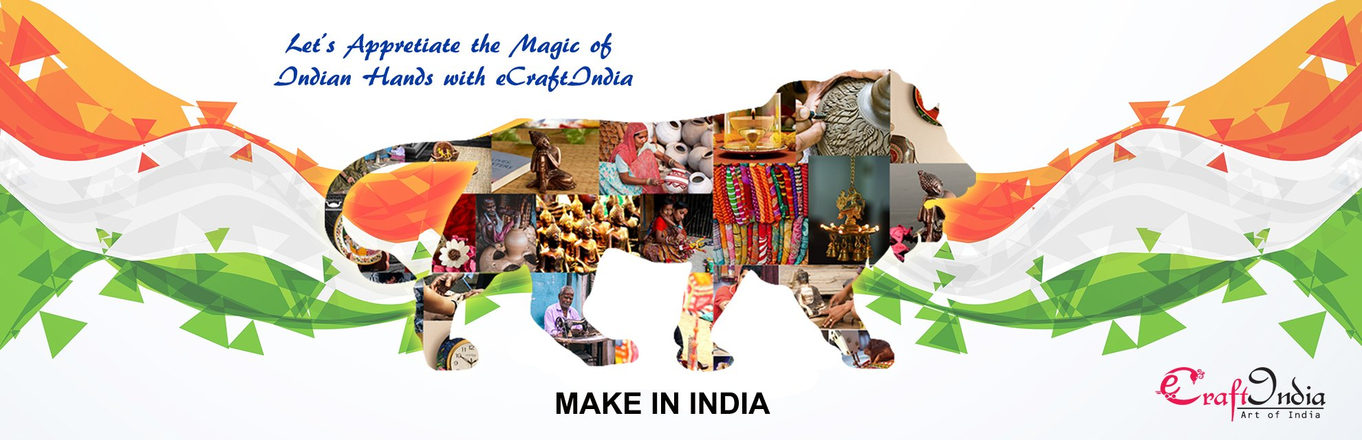 Make in India Handicrafts by eCraftIndia