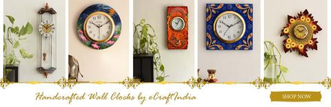 Premium Wall Clocks by eCraftIndia