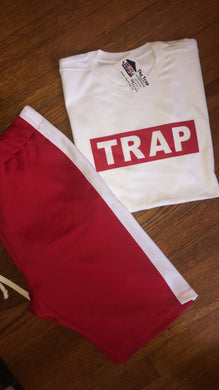 TRAP IN A BOX (white tee)