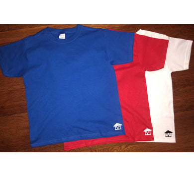 Set of 3 Tees with Trap House logo
