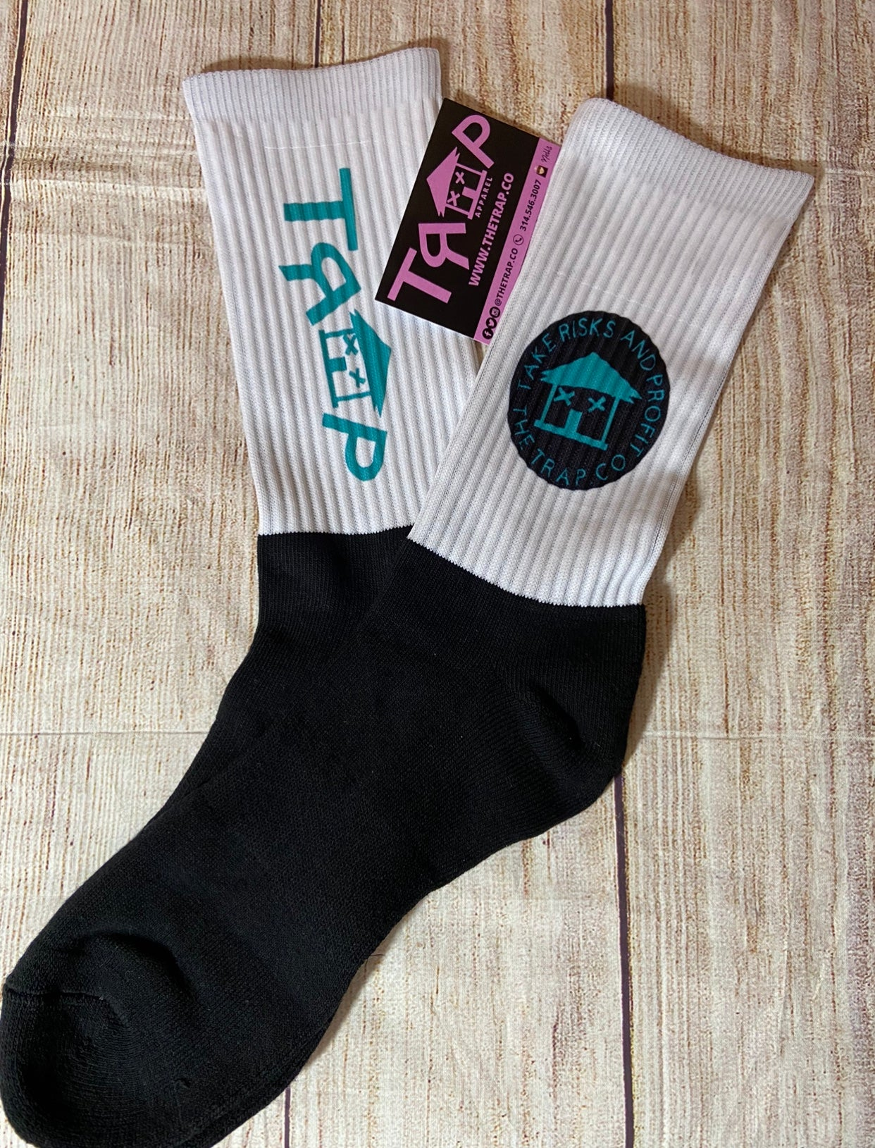 TRAP SOCKS - Teal