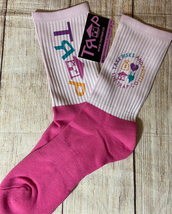 TRAP SOCKS - Pop of Color