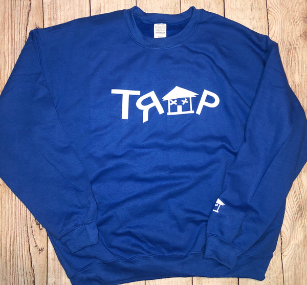 TRAP CREWNECK (BLUE)
