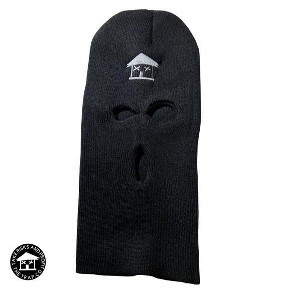 No Face No Case Trap House Skii Mask (Black/Gray)