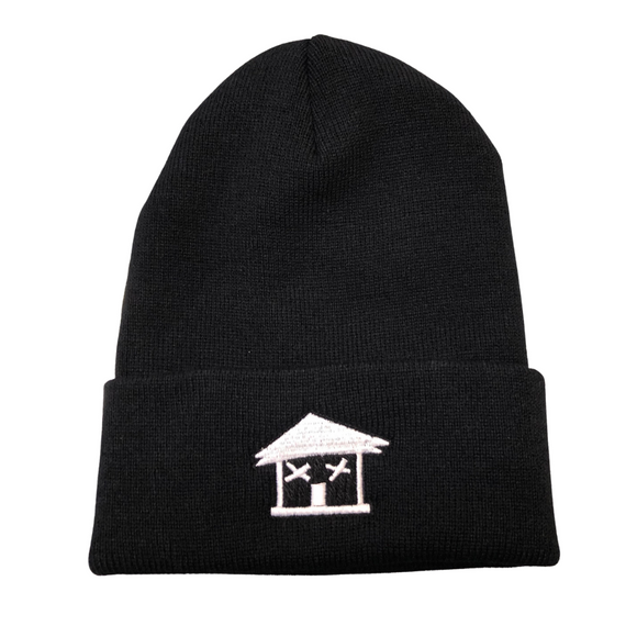 BLACK TRAPHOUSE SKULLIE (Hat)