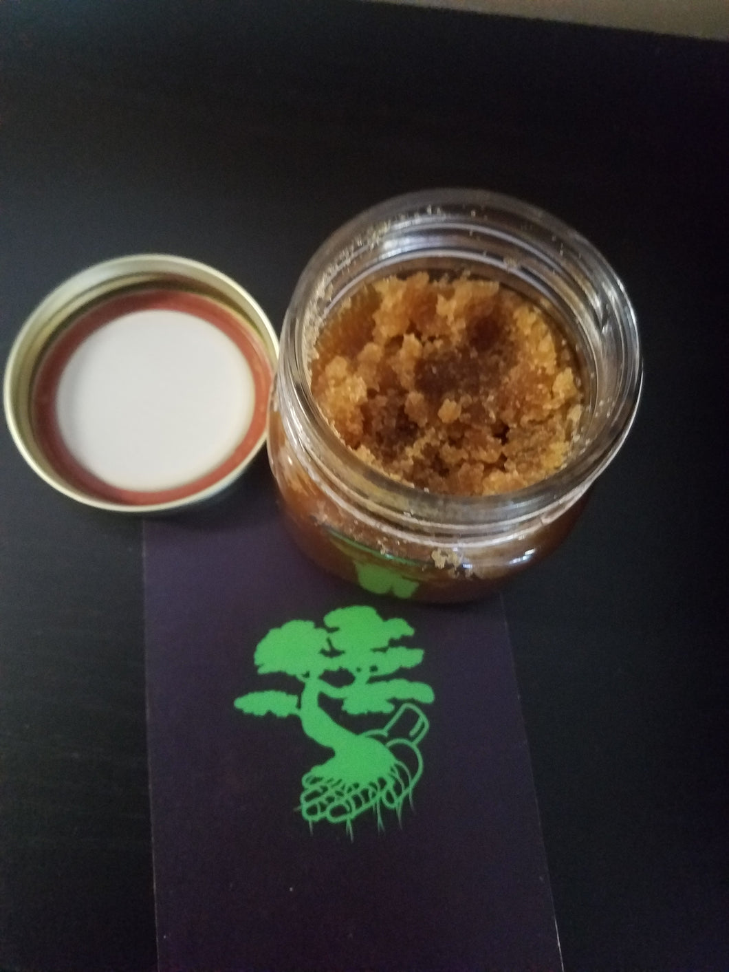 Brown Sugar Scrub With CBD