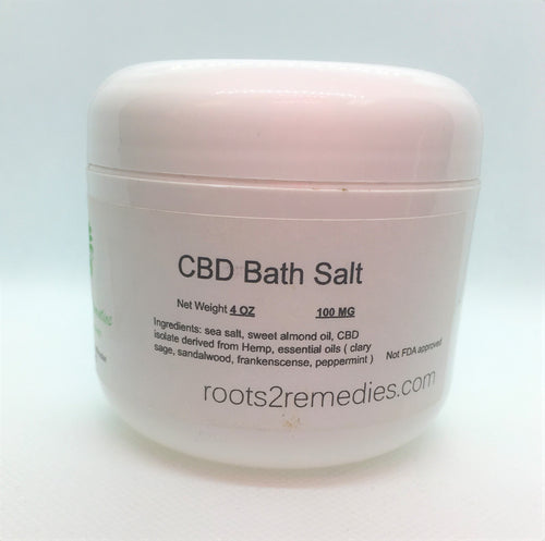 Soothing Dead Sea Soaking Salts with CBD