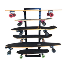 Load image into Gallery viewer, Skateboard Rack 6 Board