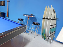 Load image into Gallery viewer, Wall Mounted Surfboard Rack 4 Board Vertical
