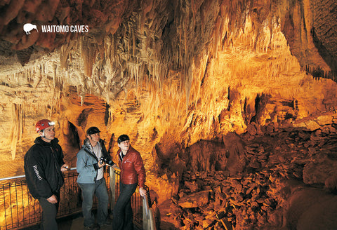 SWC950 - The Pretties - Ruakuri Cave - Small Postcard - Postcards NZ Ltd