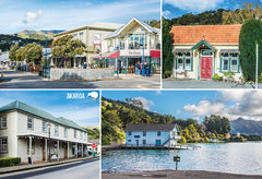 SCA323 - Akaroa - Small Postcard - Postcards NZ Ltd