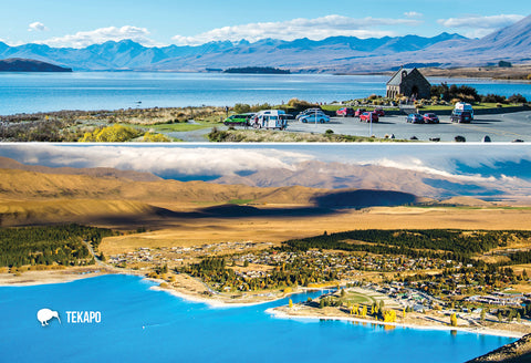 SMC371 - Tekapo Multi - Small Postcard