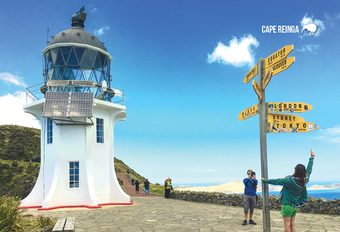 SNO796 - Cape Reinga - Small Postcard - Postcards NZ Ltd