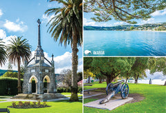 SCA325 - Akaroa - Small Postcard - Postcards NZ Ltd