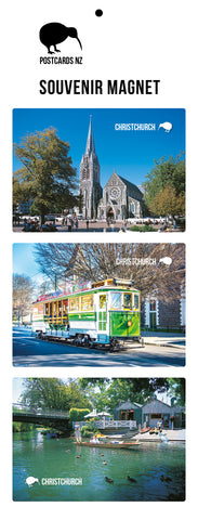 MCC5915 - Christchurch - Magnet set - Postcards NZ Ltd