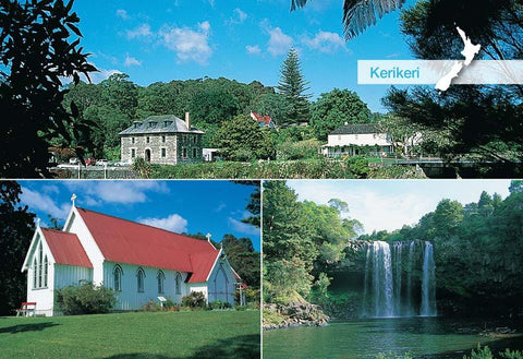 SBI187 - Kerikeri - Small Postcard - Postcards NZ Ltd