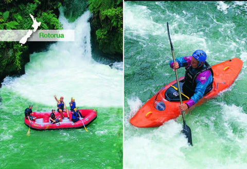 SRO248 - Rafting And Kayaking, Okere River - Small Postcard