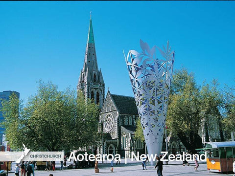 LCA036 - Christchurch Cathedral - Large Postcard