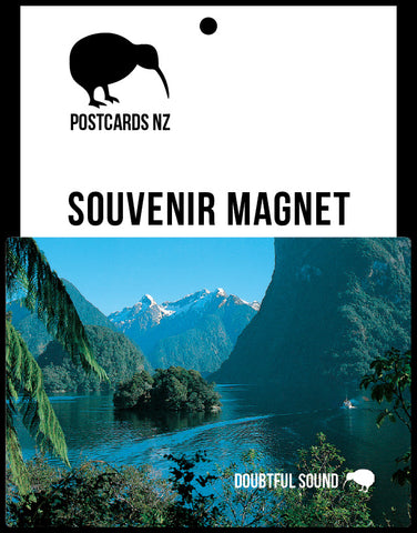MFI160 - Hall Arm, Doubtful Sound - Magnet - Postcards NZ Ltd