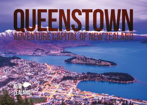 BA506 - Queenstown A5 Book - Postcards NZ Ltd