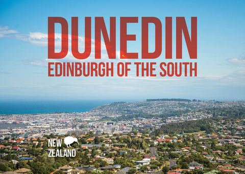 BA507 - Dunedin A5 Book - Postcards NZ Ltd