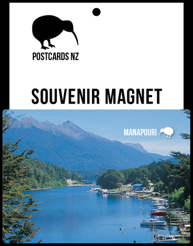 MFI161 - Pearl Harbour Manapouri - Magnet - Postcards NZ Ltd