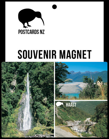 MWE245 - Haast - Magnet - Postcards NZ Ltd