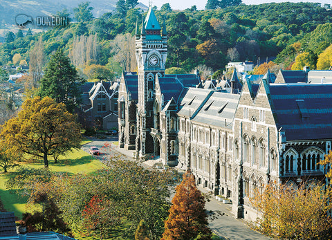 LDN050 - Otago University, Dunedin - Large Postcard - Postcards NZ Ltd