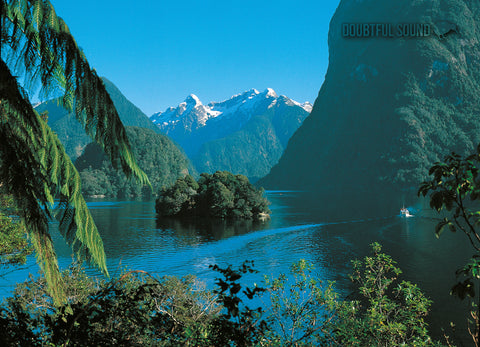 LFI058 - Doubtful Sound, Fiordland - Large Postcard - Postcards NZ Ltd