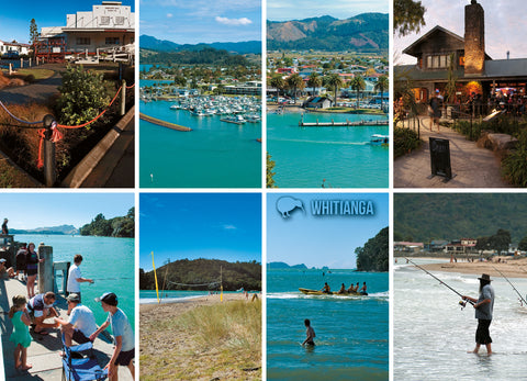 LHW091 - Whitianga - Multi - Large Postcard