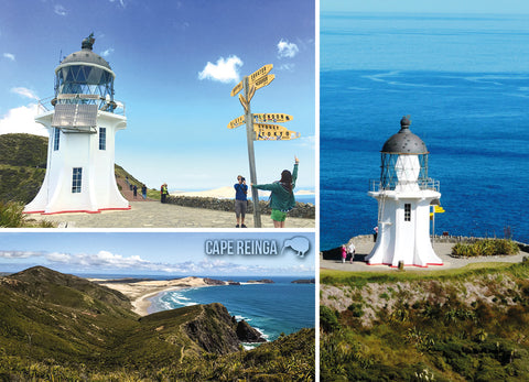 LNO111 - Cape Reinga, Multi - Large Postcard - Postcards NZ Ltd