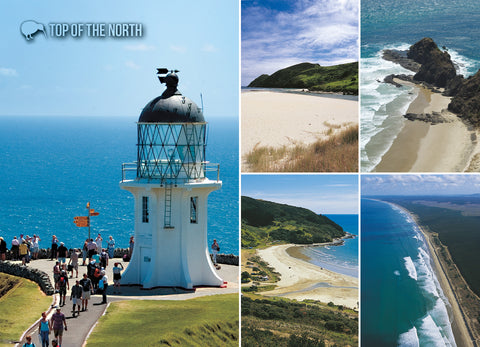 LNO116 - Cape Reinga - Large Postcard