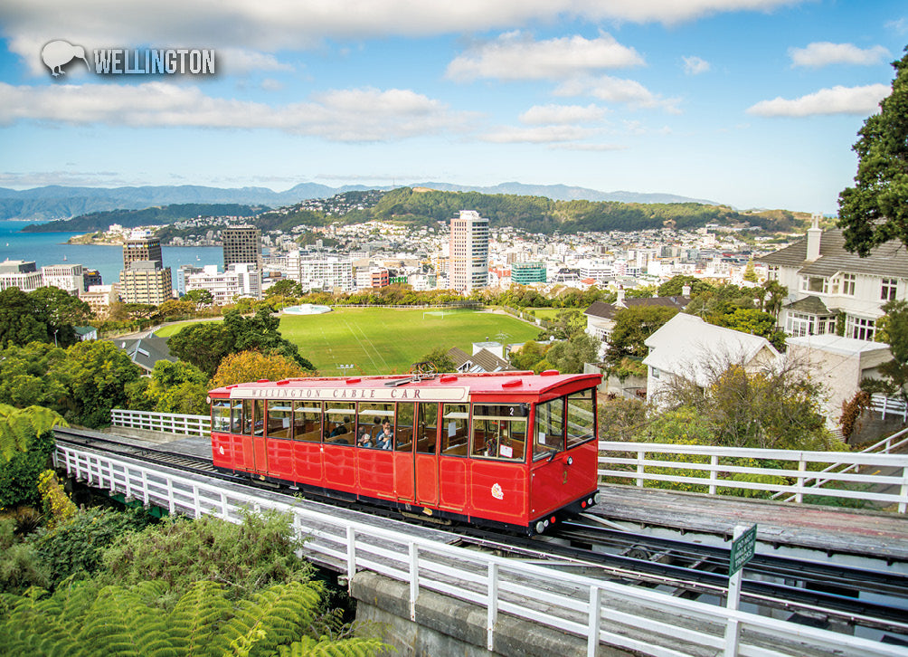 LWG191 - Wellington Cable Car - Large Postcard - Postcards NZ Ltd