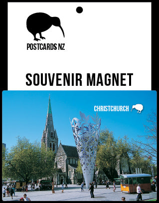 MCA032 - Christchurch, Cathedral Square - Postcards NZ Ltd