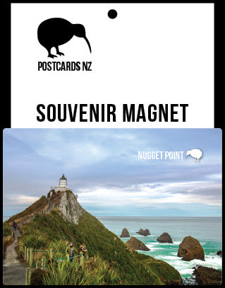 MDN091 - Nugget Point - Magnet - Postcards NZ Ltd