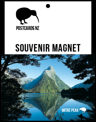 MFI153 - Mitre Peak - Magnet - Postcards NZ Ltd