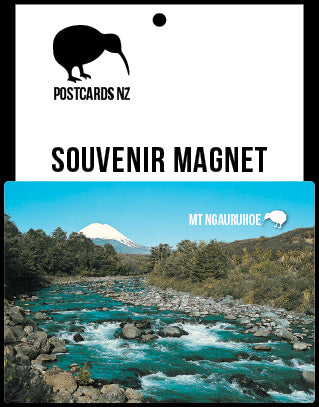 MMW237 - Tongariro National Park - Magnet - Postcards NZ Ltd