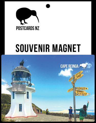 MNO186 - Cape Reinga Light House - Magnet - Postcards NZ Ltd