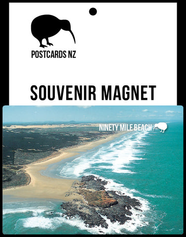MNO187 - Ninety Mile Beach - Magnet - Postcards NZ Ltd