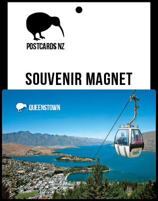 MQT197 - Queenstown From Gondola - Magnet - Postcards NZ Ltd