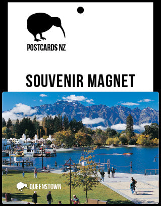MQT200 - Queenstown Waterfront - Magnet - Postcards NZ Ltd
