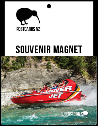 MQT282 - Shotover Jet - Magnet - Postcards NZ Ltd