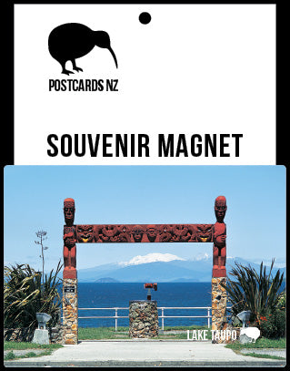 MRO210 - Lookout Point, Lake Taupo - Magnet - Postcards NZ Ltd