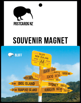MSO223 - Signpost, Bluff - Magnet