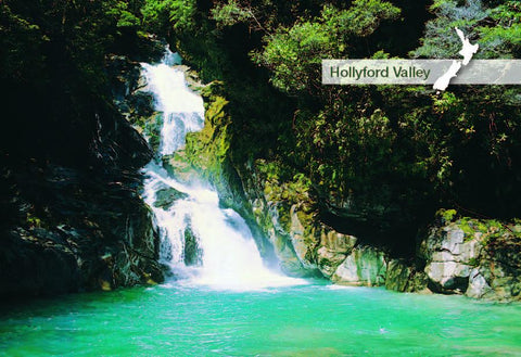 SFI33 - Hollyford Valley - Small Postcard