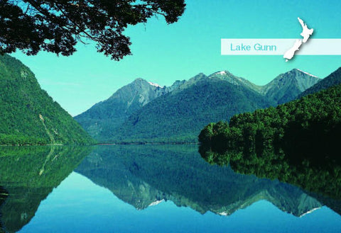 SFI670 - Lake Gunn Eglinton Valley - Small Postcard