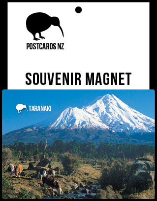 MTA233 - Mt Taranaki - Magnet - Postcards NZ Ltd