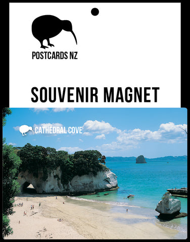 MWA117 - Cathedral Cove - Magnet - Postcards NZ Ltd